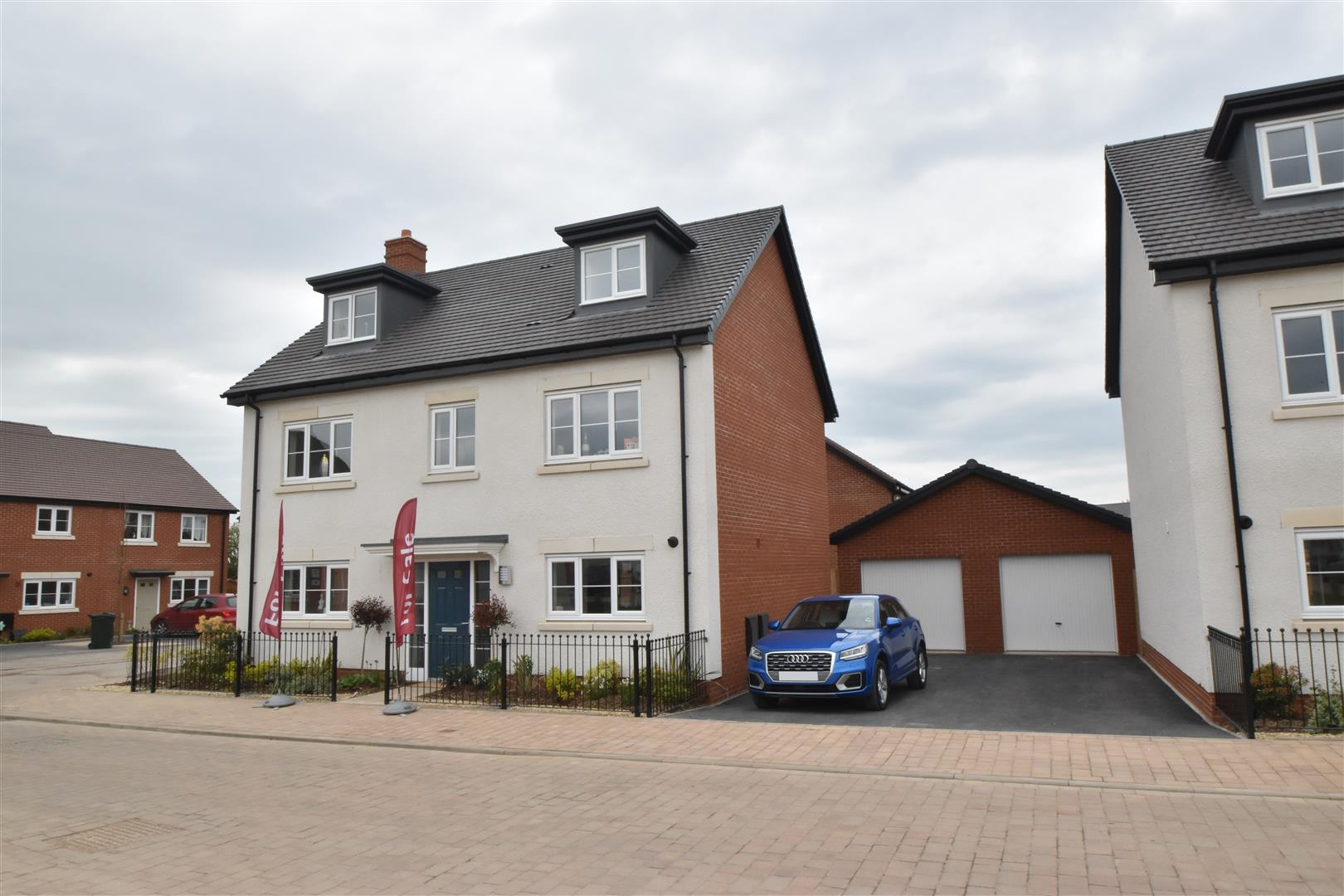5 Bedrooms Detached House for sale in The Baughton, Lawnspool Drive, Kempsey
